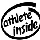 Athlete Inside Decal Sticker
