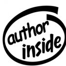 Author Inside Decal Sticker