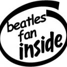 Beatles Fan Inside Decal Sticker