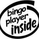 Bingo Player Inside Decal Sticker