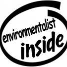 Environmentalist Inside Decal Sticker