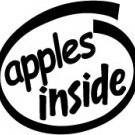 Apples Inside Decal Sticker