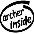 Archer Inside Decal Sticker