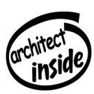 Architect Inside Decal Sticker
