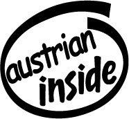 Austrian Inside Decal Sticker