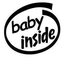 Baby Inside Decal Sticker