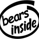 Bears Inside Decal Sticker