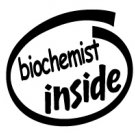 Biochemist Inside Decal Sticker