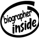 Biographer Inside Decal Sticker
