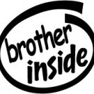 Brother Inside Decal Sticker