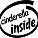Cinderella Inside Decal Sticker