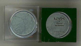 NYX CHROME EYESHADOW- COLOR HARDCORE