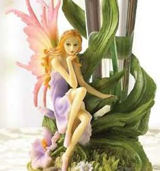 Rainbow Fairy Glass Flower Vase Absolutely Stunning
