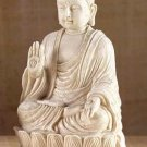 Tranquil Mediative Buddha Sculpture Tabletop Calming