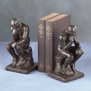 THE THINKER Bookends Absolutely gorgeous