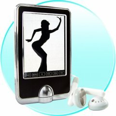 Terrific Sound - Slim MP4 Player with 2.5 Inch Touchscreen -8GB