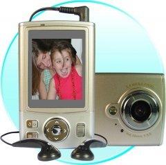 Digital Camera, 12M Pixel, 512MB Int.mem, 2.5-inch Screen