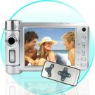5 MP Swivel Lens Camera with 3 Inch LCD