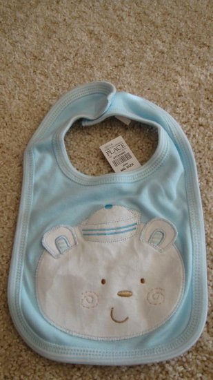 Blue Bear Bib Brand New