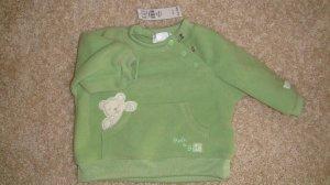 Size 0-3 Mos. Green Bear Sweater Brand New