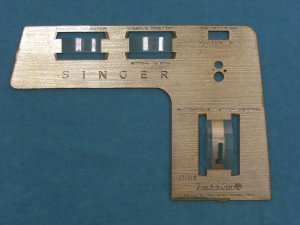 Singer Touch & Sew Sewing Machine Stitch Indicator Face Plate