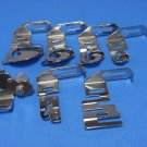 7 Pc. Special Hemmer Foot And Adaptor Set For Low Shank Sewing Machines