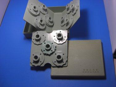 Kenmore Sewing Pattern Cams Set of 13 in Original Case