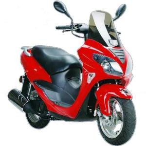 Item:MC_SL-19 150cc Gas Moped Scooter $1499.00