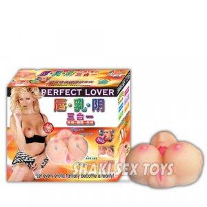 Masturbator Erotica Breasts, pussy and mouth