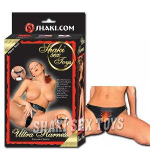 Ultra harness chastity belt  leather
