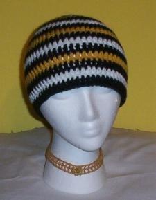 Hand Crochet ~ Ladies Sweet Steeler Beanies