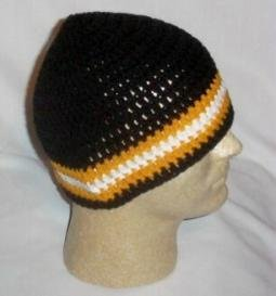 Hand Crochet ~ Sweet Steeler Beanies ~ Unisex - 5