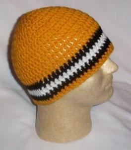 Hand Crochet ~ Sweet Steeler Beanies ~ Unisex - 9