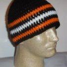 Hand Crochet ~ Men's Skull Cap Beanie Hat Harley #3
