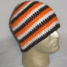 Hand Crochet ~ Men's Skull Cap Beanie Hat Harley #2