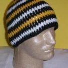 Hand Crochet ~ Sweet Steeler Beanies - J