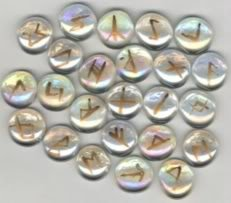 Elder Futhark Glass Runes