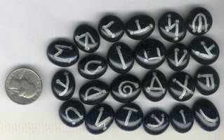 Celestial Runes - A set of 23 runes based on The Celestial Alphabet
