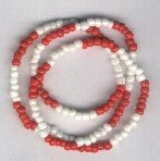 Hand Crafted Chango Necklace/Bracelet Style A 30 inches