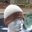 Hand Crochet Men's Skull Cap Beanie Hat Zac Brown Band - Cotton