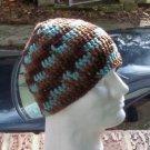 Hand Crochet Men's Skull Cap Beanie Hat Zac Brown Band - 8 inch - Camo