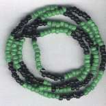 Hand Crafted Ogun Necklace/Bracelet Style A 9 inches