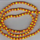 Hand Crafted Oshun Necklace/Bracelet Style A 18 inches Blessed Orisha Santeria