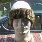 Hand Crochet Men's Earwarmer Camo New Style