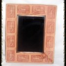 Hand Crafted Terra Cotta Lobste Scrying Mirror Divination Psychic OOAK Powerful