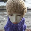 Hand Crochet Ladies Chunky Cowl Neckwarmer Dickie Laven
