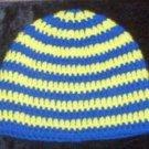 Hand Crochet ~ Ochosi Eleke Ritual Beanie Blessed