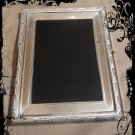 Hand Crafted Vintage Silver Plated Goddess Scrying Mirror 9 x 7