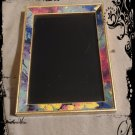 Hand Crafted Vintage Floral Fairy Scrying Mirror 6 x 8