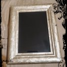 Hand Crafted Vintage Dual God Goddess Scrying Mirror 7.5  x 9.5